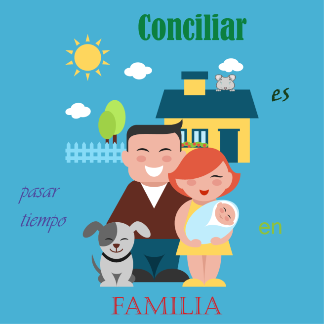conciliar es pasar tiempo en familia